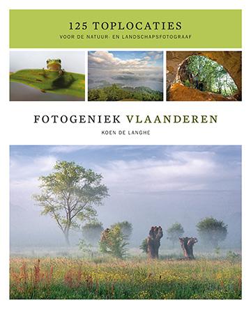 Het boek fotogeniek Vlaanderen bevat tekst en uitleg bij 125 fotogenieke locaties in Vlaanderen.