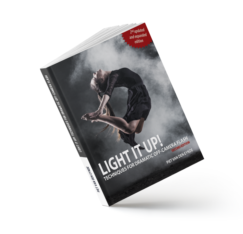 Light It Up! Techniques for Dramatic Off-Camera Flash.  A 180 page eBook that teaches you all you need to know to create great portraits with flash. This  Deluxe Edition  also includes three tutorial videos (45 minutes total) and five bonus Lightroom presets.