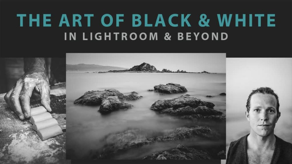 In 'The Art of Black & White in Lightroom & Beyond' neemt Andrew Gibson je mee in de boeiende wereld van zwart-wit nabewerking.