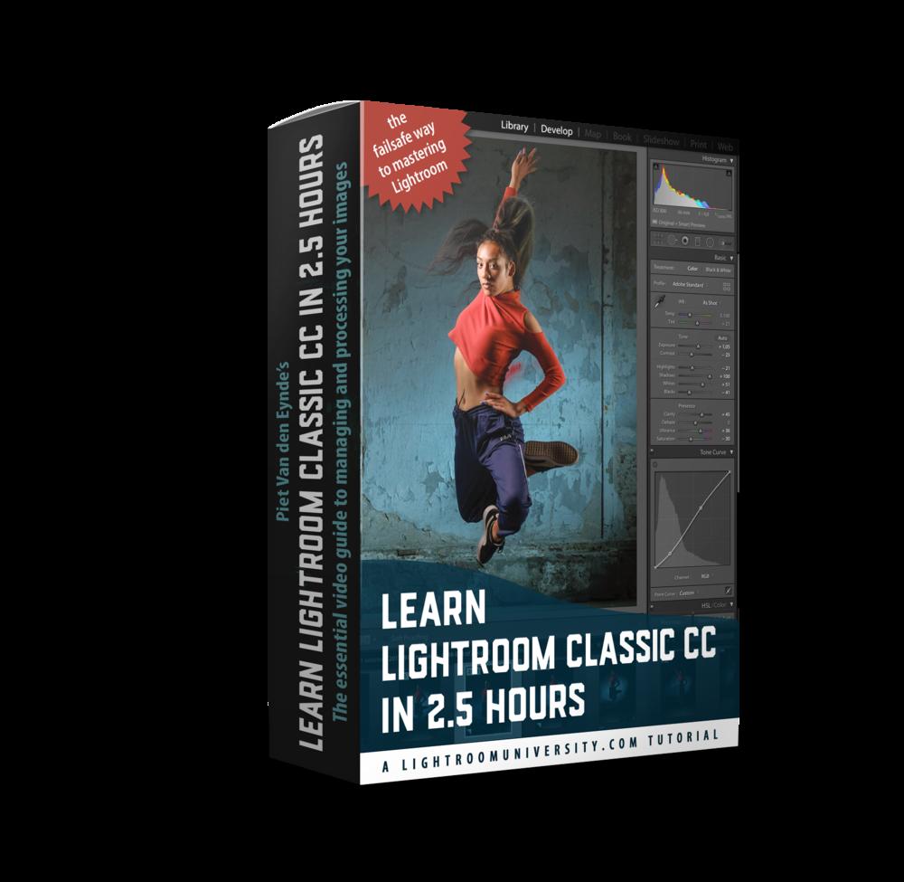 Nieuwe cursus: 'Learn Lightroom Classic in 2.5 hours' - ✔︎ begrijp het verschil tussen Lightroom en andere software zoals Bridge of Photoshop✔︎ leer je kostbare foto's risicovrij te importeren✔︎ ontdek wat een Lightroom Catalogus echt is✔︎ gebruik mijn 'getest en goed bevonden' manier van bestands- en mappenbeheer met Lightroom✔︎ maak kennis met de krachtigste gereedschappen van de Ontwikkelmodule✔︎ leer je beste foto's delen met de wereld✔︎ fully downloadable: bekijk hem waar je wilt, wanneer je wilt en zo lang als je wilt!