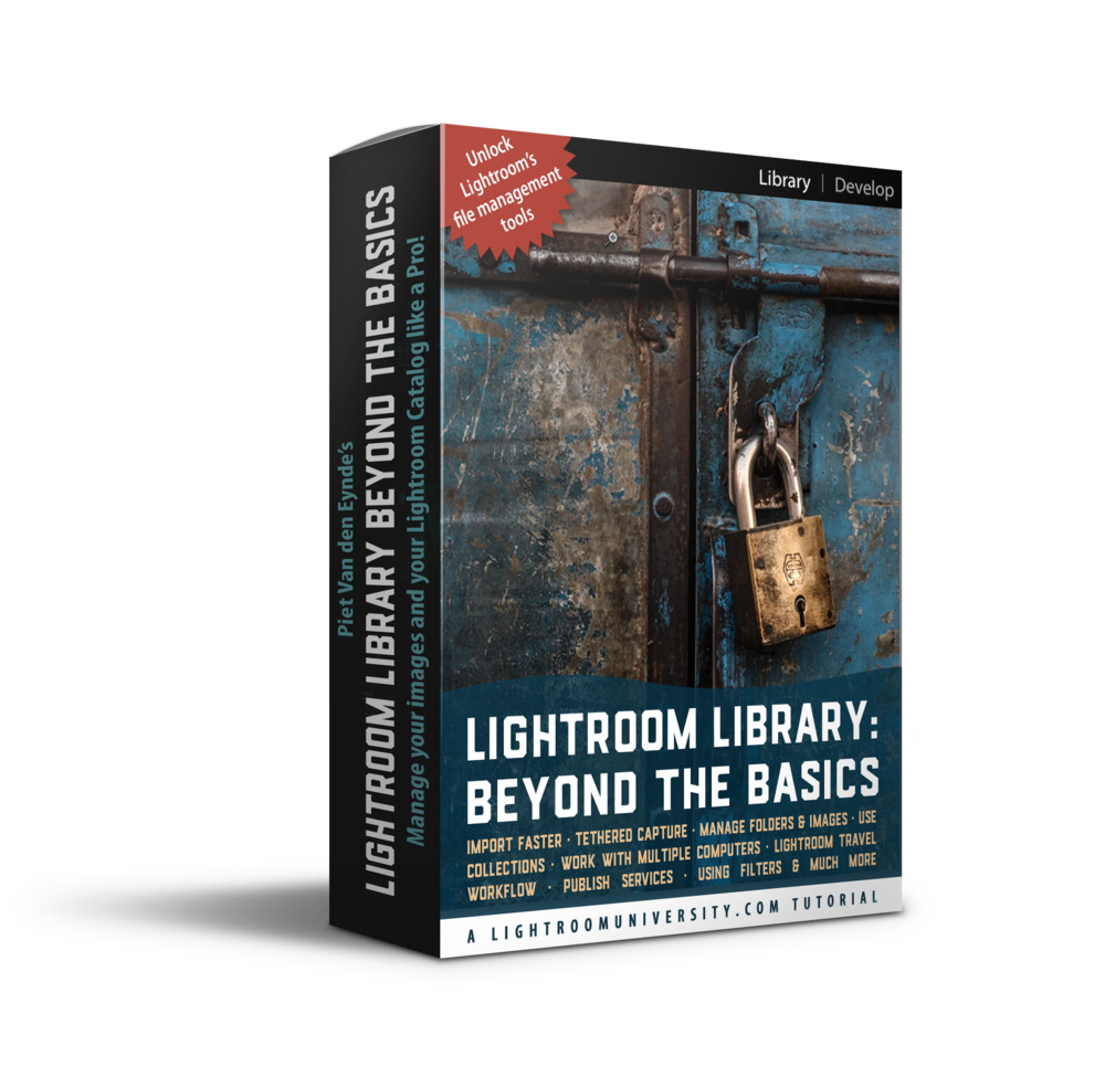 Here's what you get - ✔︎ 11 videos, over four hours of cutting-edge Lightroom tutorials✔︎ 1 bonus video: Lightroom Back-up Bootcamp✔︎ One of the most comprehensive Lightroom Library tutorials on the planet✔︎ fully downloadable course. No membership required. Download and pay once and watch forever✔︎ and… a 15-day money-back guarantee
