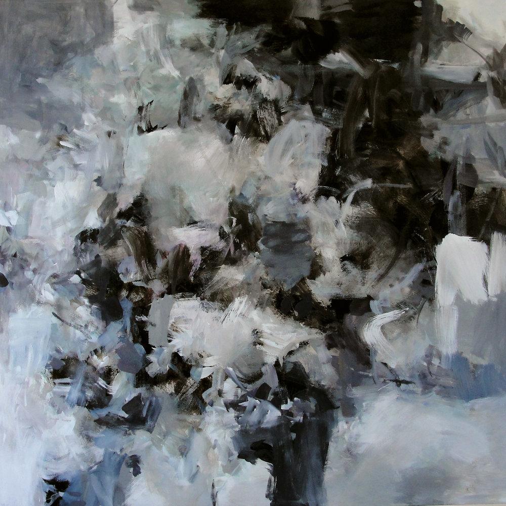 "Shadow Canyon  Acrylic on canvas  48"" x 48"""
