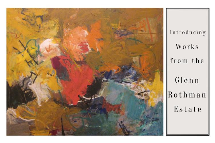 Works from the Glenn Rothman Estate