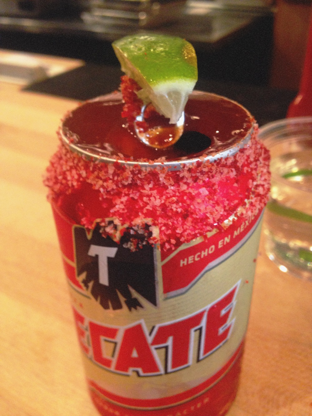 Love a michelada, this is a good one. The ssam sauce is not just for the spicy chicken sandwich.