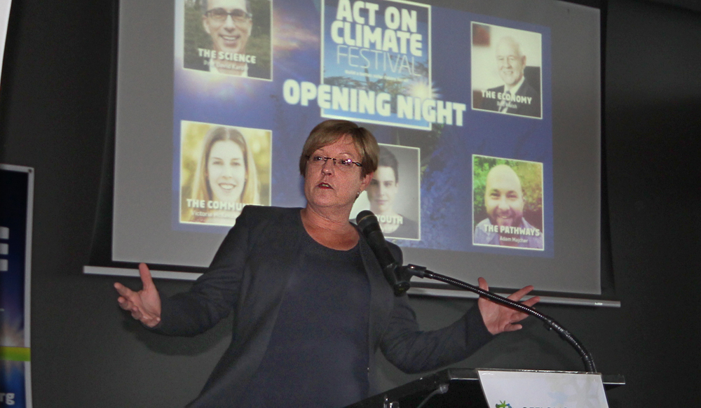 Hon Lisa Neville. Photo- Geelong Sustainability Group