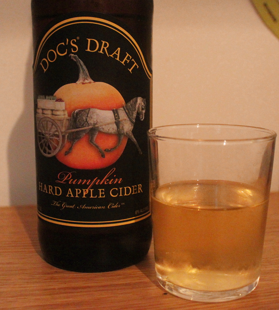 Doc's Draft Pumpkin Hard Apple Cider
