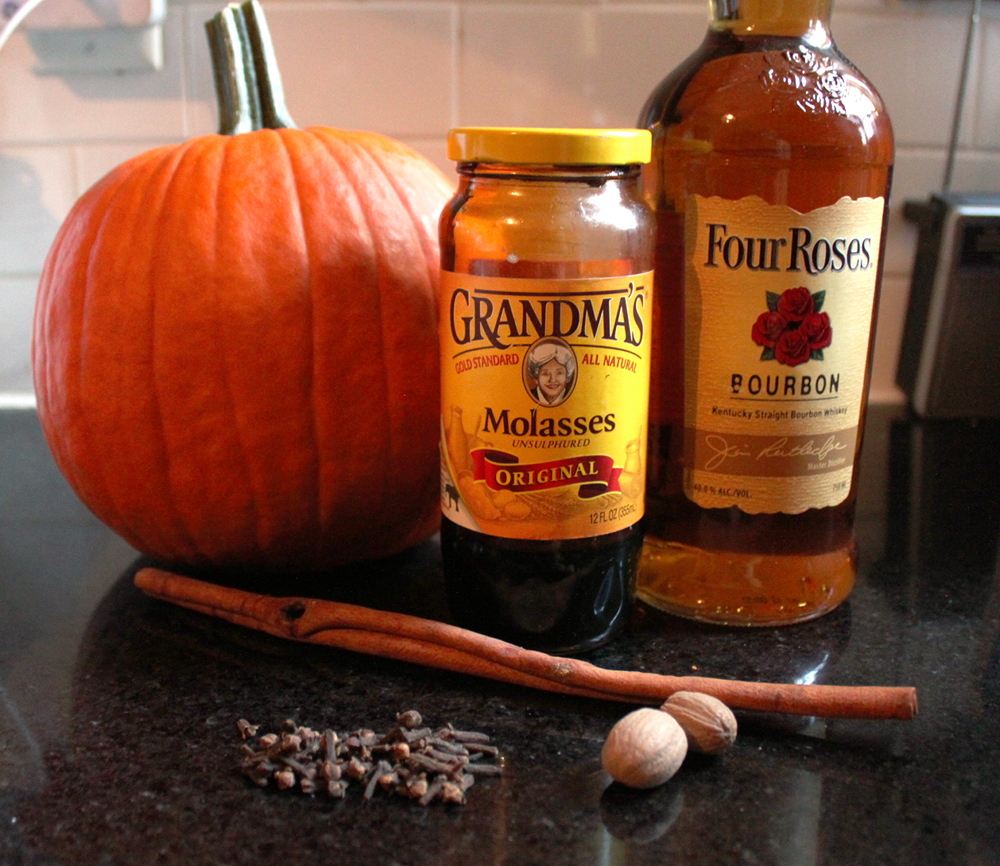 Pumpkin Whiskey Ingredients
