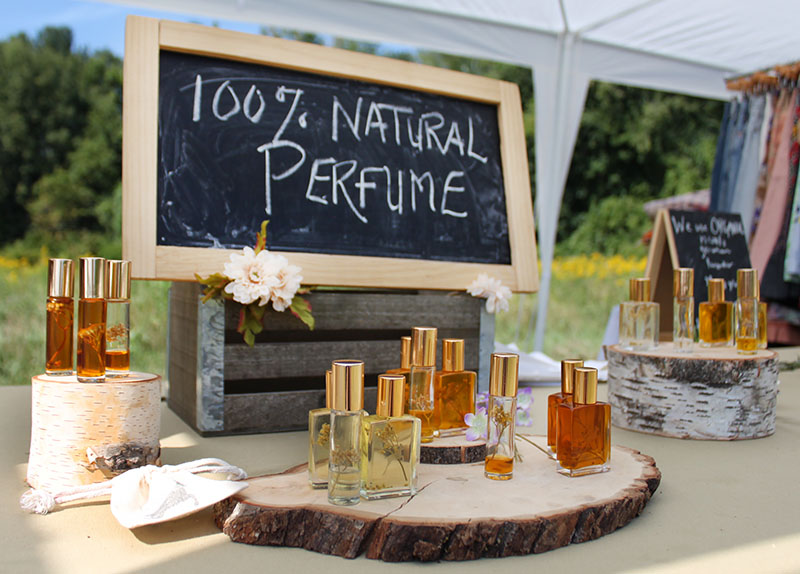 Flidais Parfumerie makes 100% natural, small batch and New York State-made perfumes with scents as beautiful as the bottles they're placed in.
