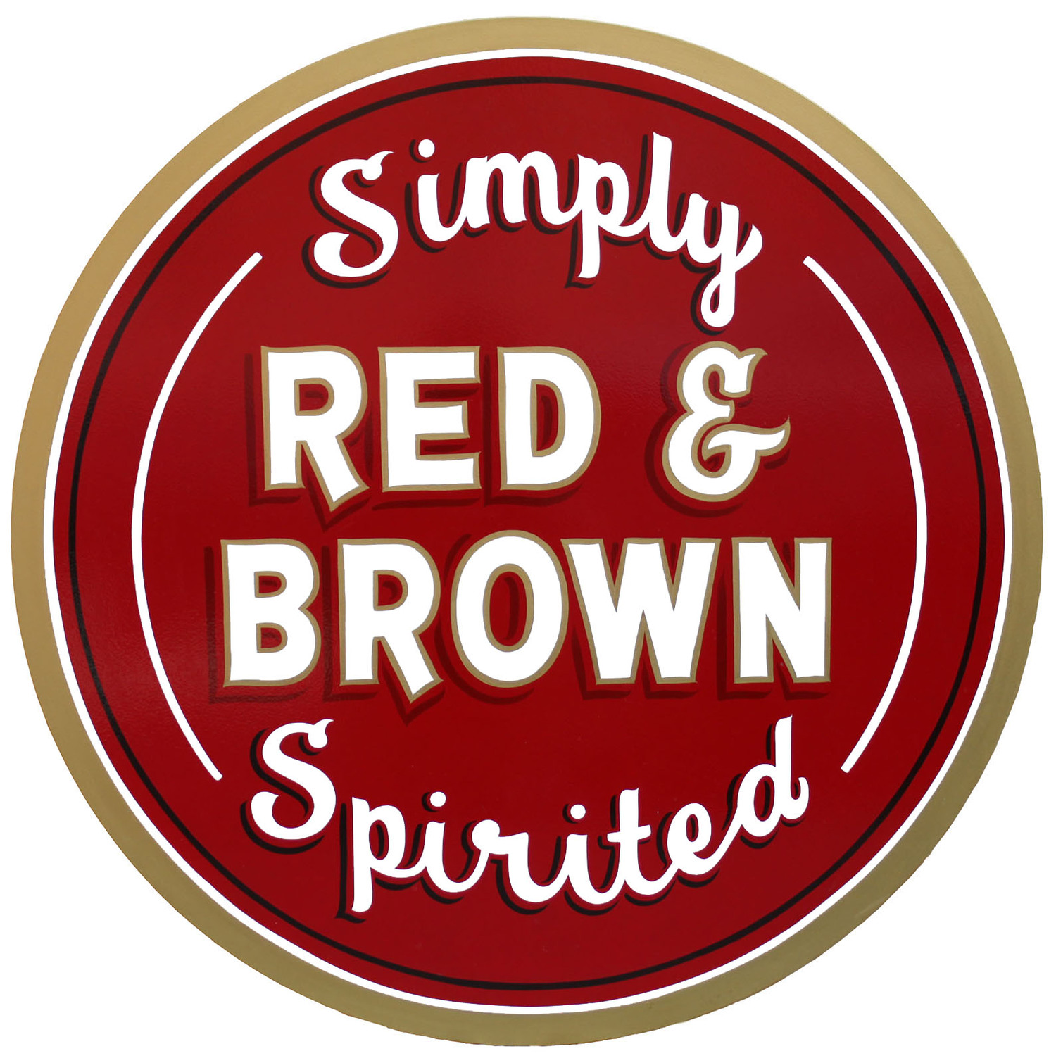 Red & Brown