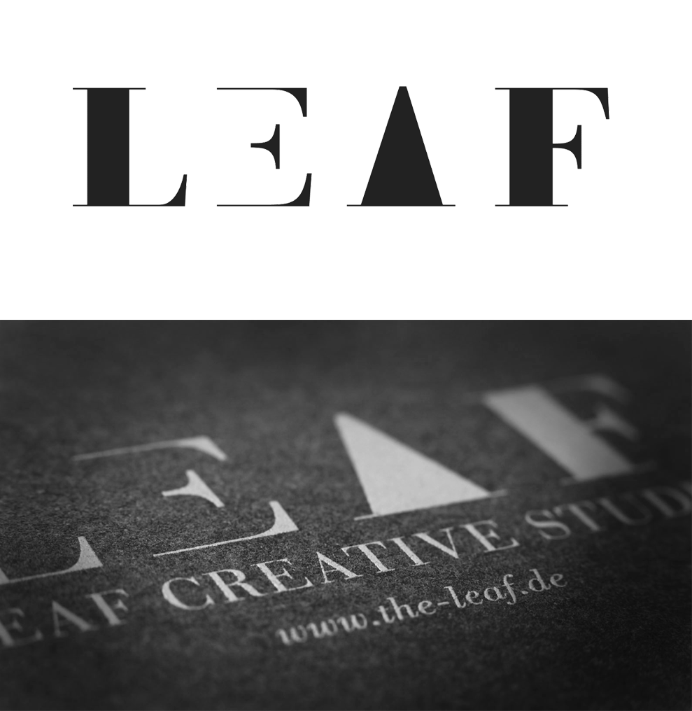 LEAF Creative Studio  Corporate Design  → Showcase