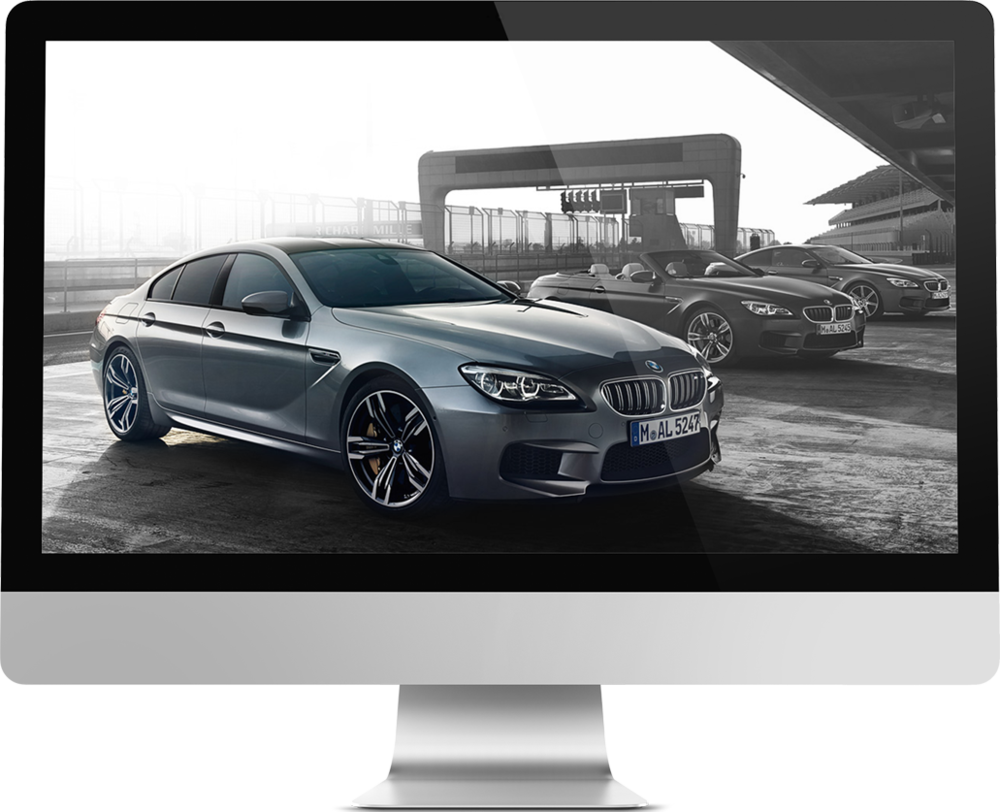 Various international BMW Campaigns  Online campaigns  → Showcase