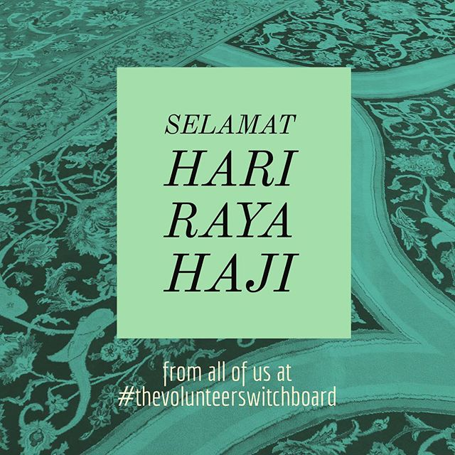 Happy Hari Raya Haji y'all, and may we always be reminded of the spirit of #selflessness and #sacrifice. 💛 #harirayahaji #singapore