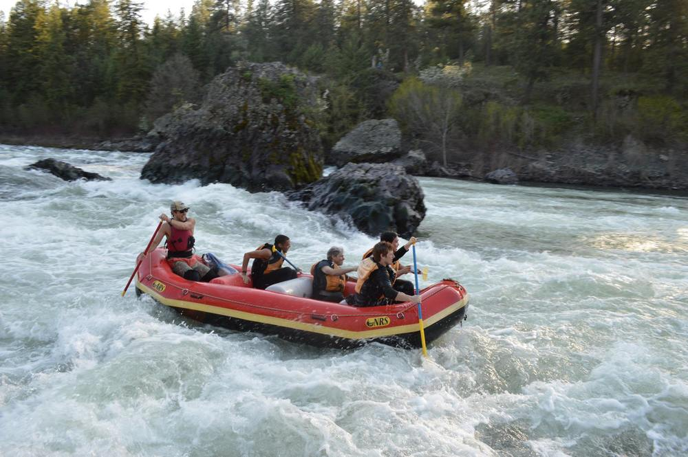 Spokane River Rafting