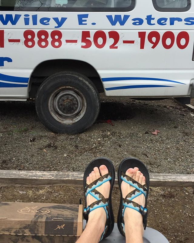 It's Chaco Tuesday! You already know i'm rocking chacos all spring, perfect for whitewater rafting.  @chacofootwear @chacofootwear @chacofootwear  #ChacoTuesday #ChacoNation #Yosemite #JoinTheTribe #WileyWaters #Rafting #WhiteWater #SpokaneRiver #ClarkForkRiver #Sandals  #outdoors