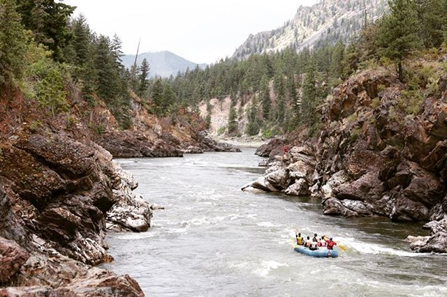 The views going down the #clarkforkriver are like no other. pictures just don't do it justice🛶☀️⛰ #theviews #clarkforkriver #tumbleweedrapid #whitewaterrafting #whitewaterporn #scenic #outdoors #missoula #albertongorge #rafting #visitmissoula #spokanesmallbusiness