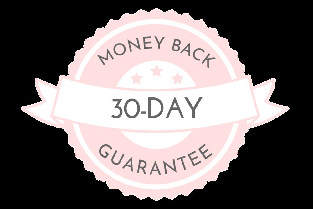 30-Day Money Back Guarantee. Nikki 1.png
