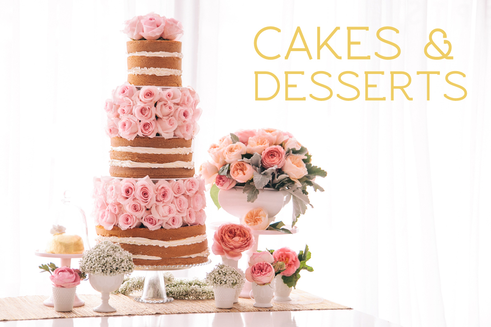 cakes desserts candies weddings