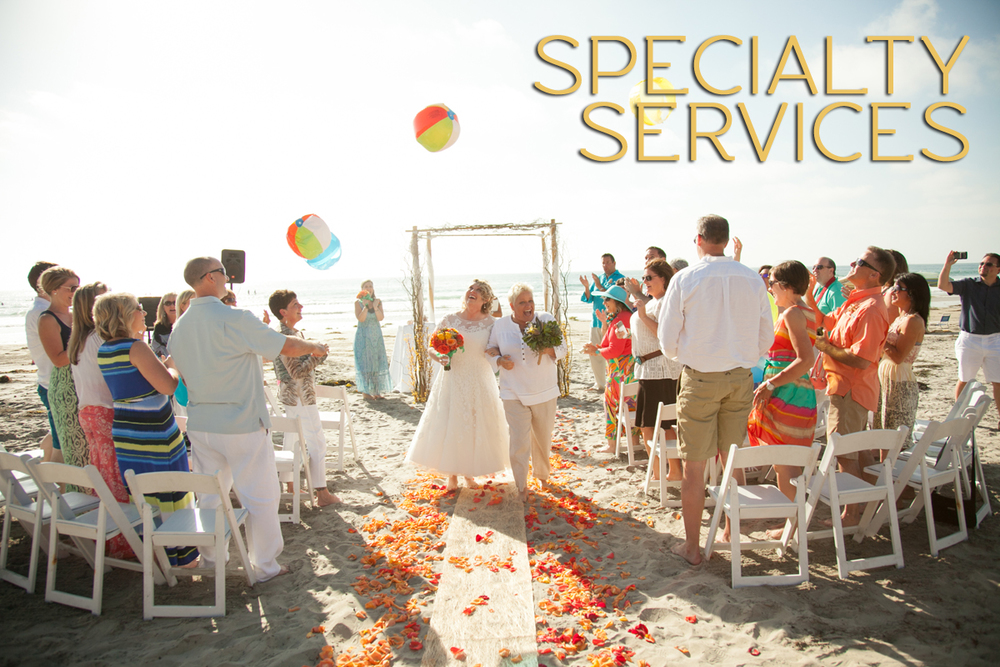 Specialty Wedding Services