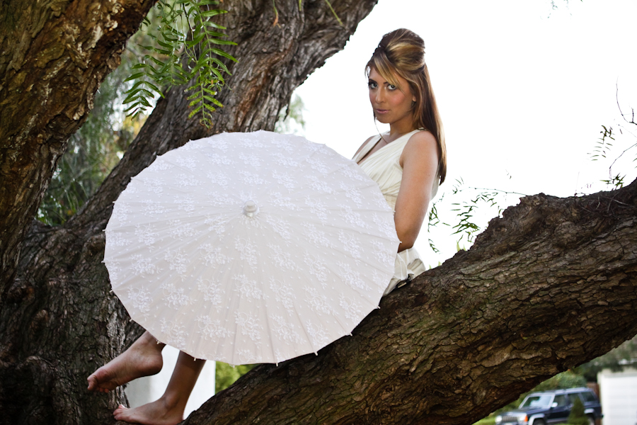 The Andrea with Chantilly lace over custom color parasols sweet and delicate and perfect for a sweet Summer's wedding day!