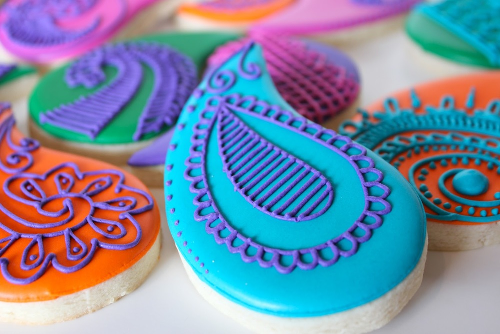 Sugar Bea's cookies are a show stopper - they're yummy and cute!