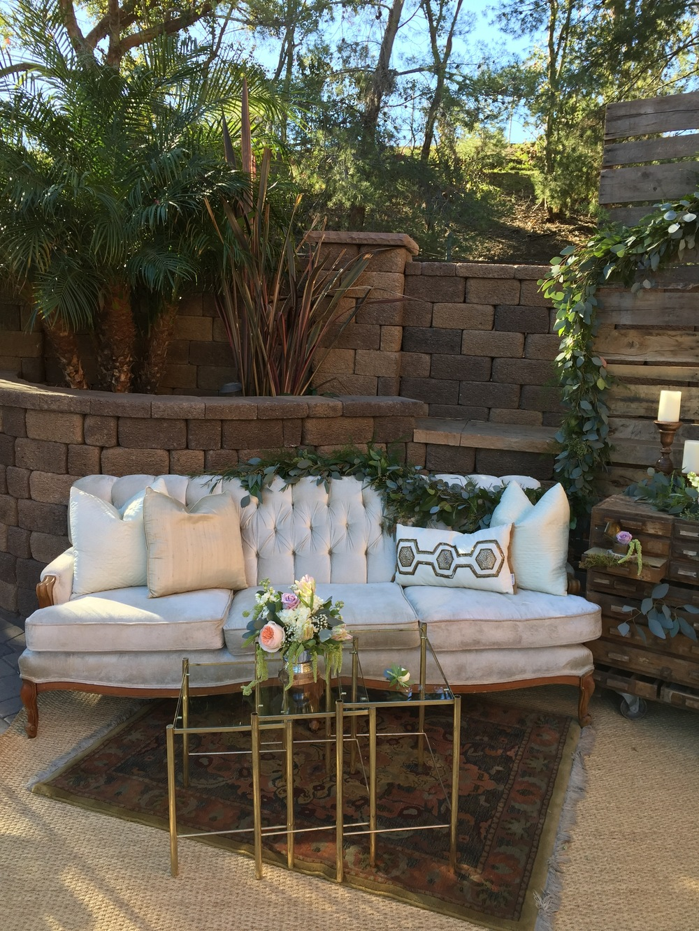 the vintage bohemian lounge trend an update by lauren sharon