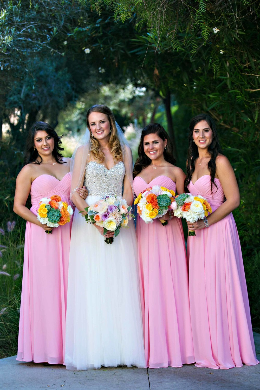A bright and beautiful wedding full of color (and superheroes ...
