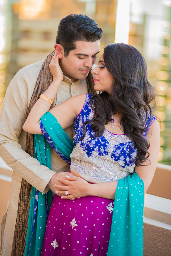 A South Asian Punjabi Wedding Celebration Marries Beauty And Style