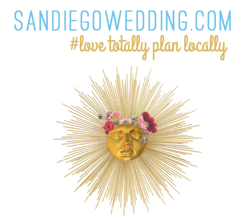 San Diego's ultimate directory for wedding pros, style inspiration, suppliers and goods! #lovetotallyplanlocally