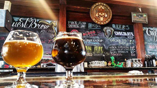 Craft Beers At Weddings Border X Brewing Has The Coolest Suds For