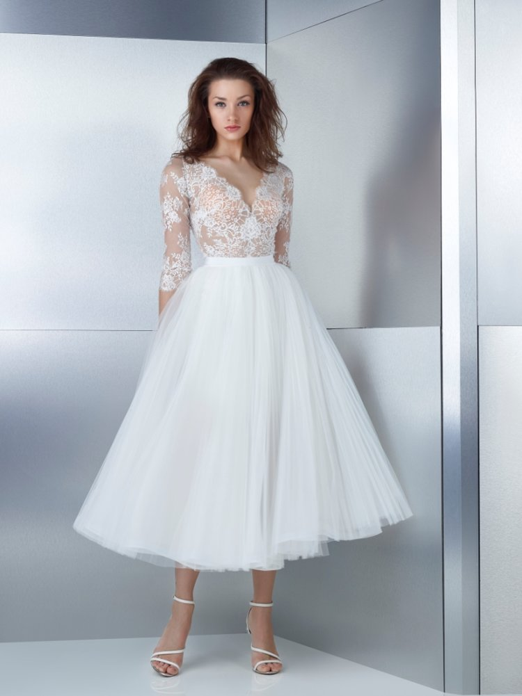 Bridal Gown Designer Gemy Maalouf Offers a New Twist On Length