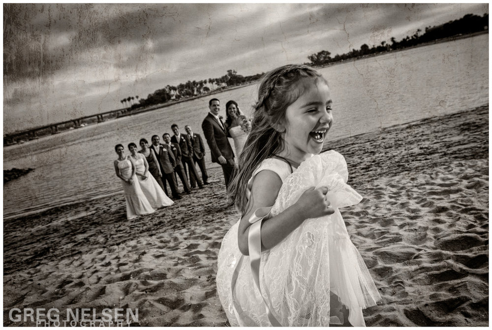 The Adorable Flower Girl Photo