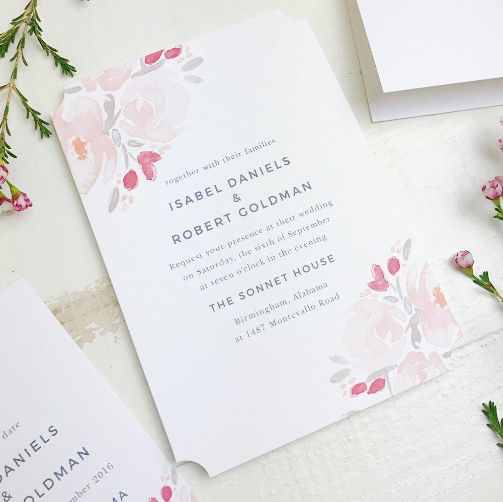 Basic Invites Formal Wedding Invitations