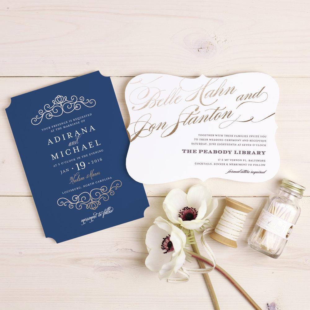Basic Invites Stylish Wedding Invitations