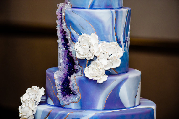 The Geode Cake By Flour Power Cakery Will Be Sure To Wow Your Guests