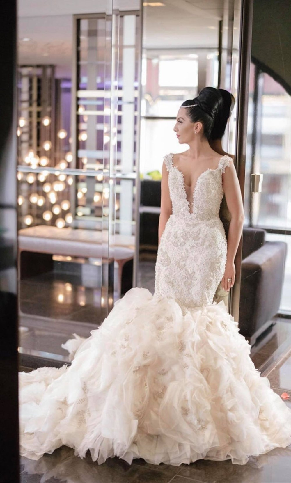 Bold and beautiful bridal gowns by designer YSA MAKINO steal the show!