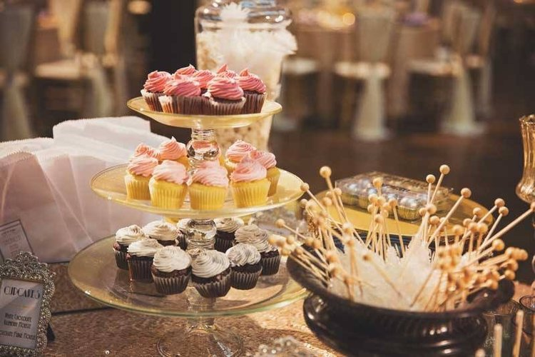 The Well Appointed Wedding Reception Dessert Table By La Dolce Idea