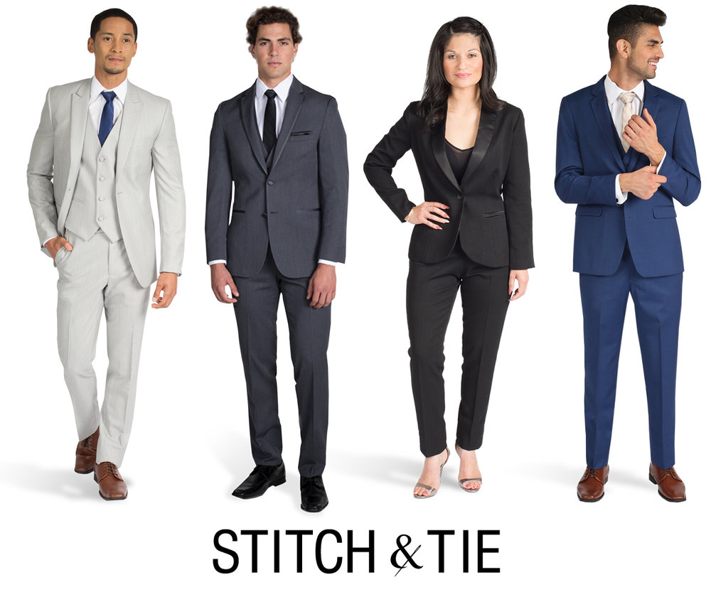 Find the perfect modern wedding suit or tuxedo on Stitch & Tie by ...