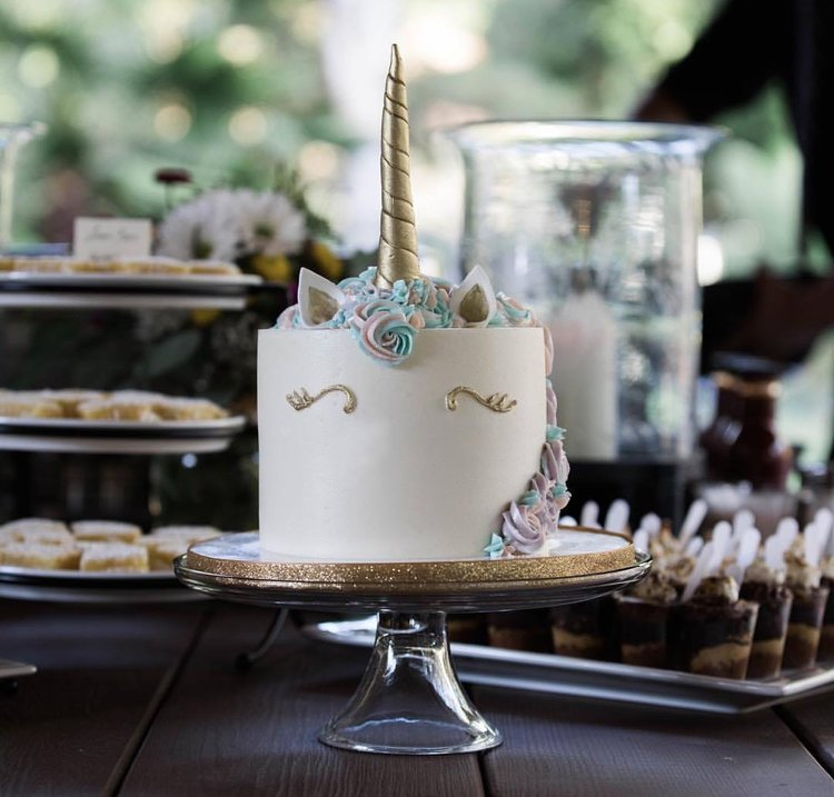 Magic Ensues With This Unicorn Wedding Cake By Sweet Cheeks Baking Co