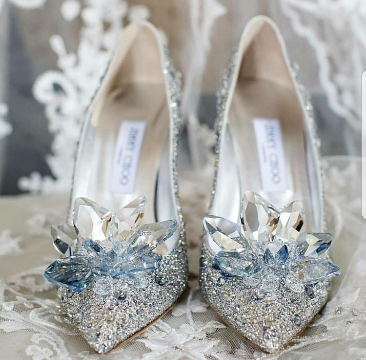 fe09a8793bf8 The most magical bridal shoe by Jimmy Choo
