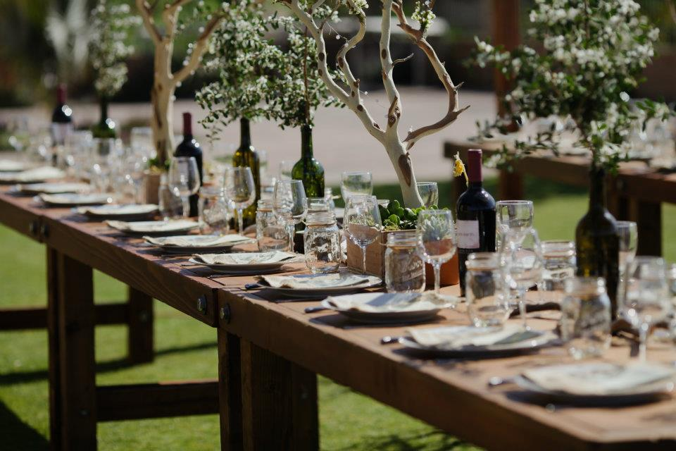 Why We Love Family Style Wedding Reception Table Set Ups By Farm