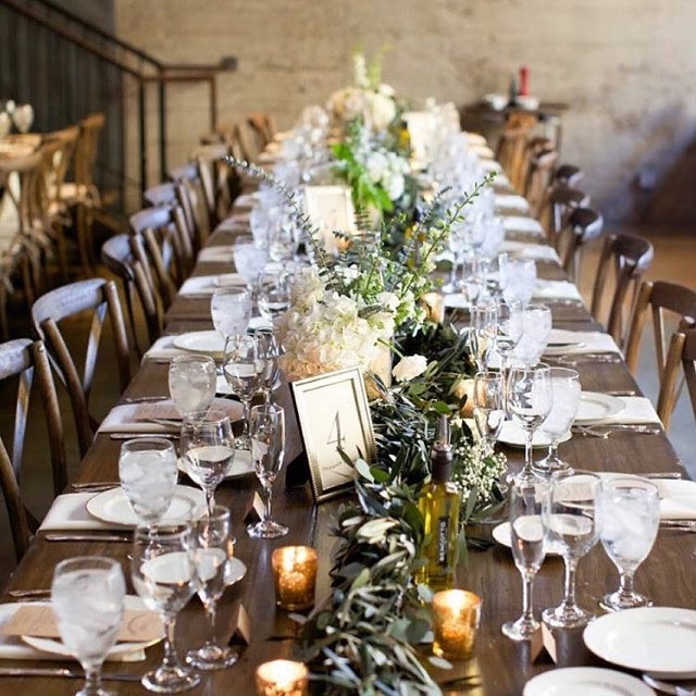 Family Style Wedding Reception Dining Why You Want It