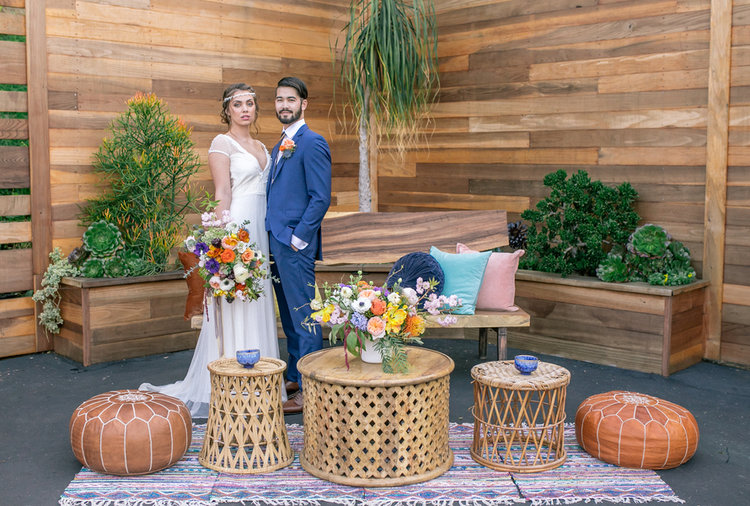 Colorful styled wedding shoot announces a super fun new san diego colorful styled wedding shoot announces a super fun new san diego wedding venue junglespirit Image collections