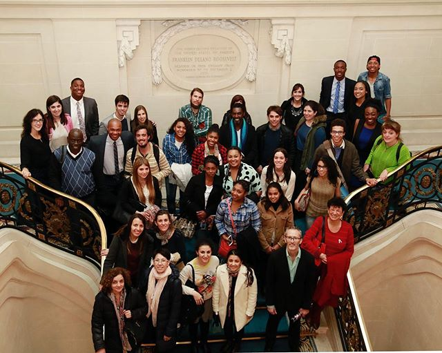 Thanks to the US Embassy in Buenos Aires for organizing a lecture on the history and presence of Afro-Argentines in Argentina. Amazing to see cross-cultural bonds be built amongst the African Diaspora! #BlackBeyondBorders #TravelWithPurpose #BreakThe5