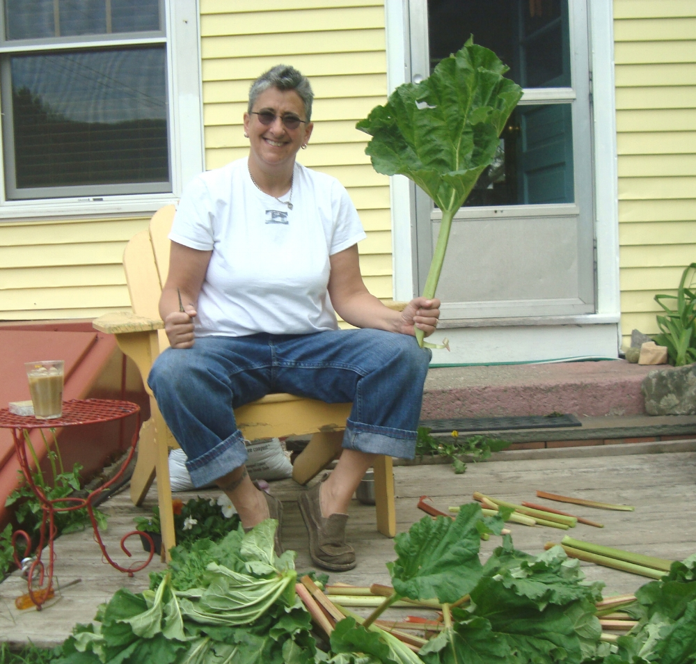 jamie with rhubarb.JPG
