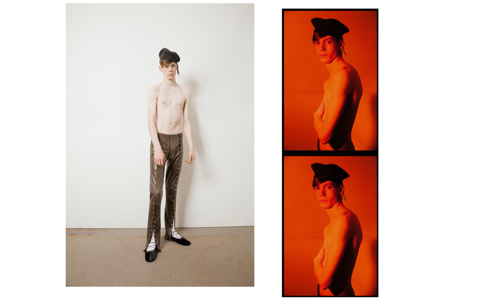 Trousers & shoes Ludovic de Saint Sernin, Beret Stylist's Archive and Socks Falke