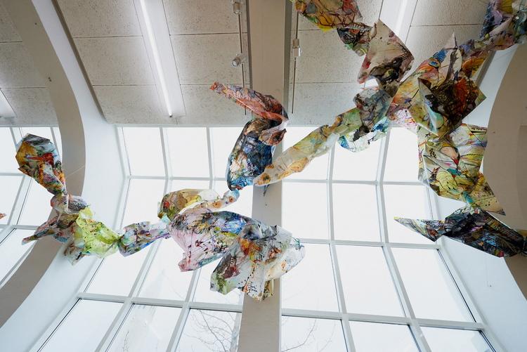 brot / fragment, fracture, fragment, fold, violation   Installation view / ASI Art Museum, Reykjavik