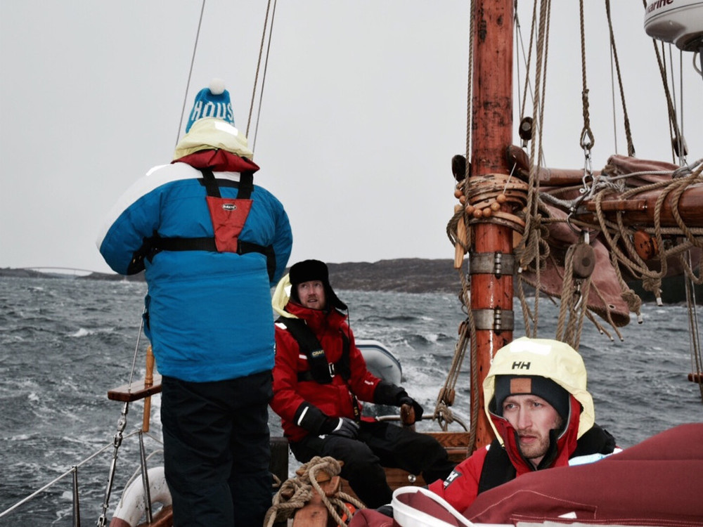 Det blåser opp. Foto: Knut Halvor Møgster.