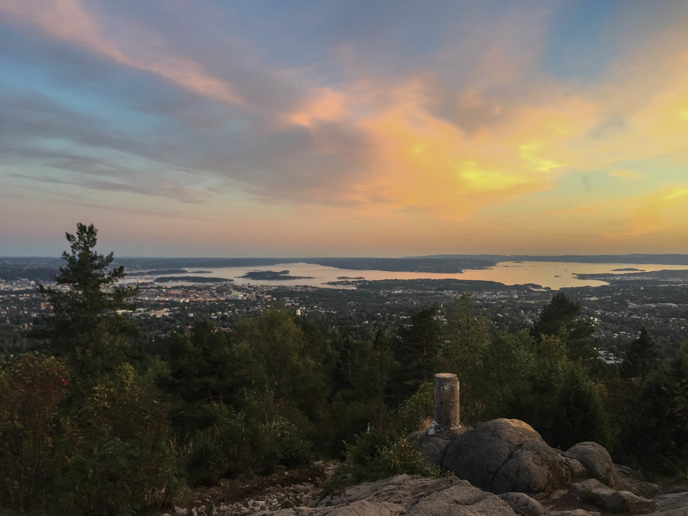 Oslo sett fra Vettakollen.