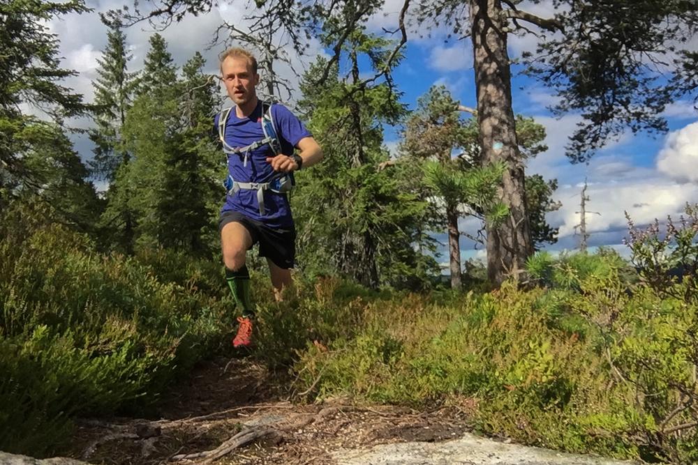 Pershusfjell byr på noe av markas fineste løping. Her finner jeg flyten.