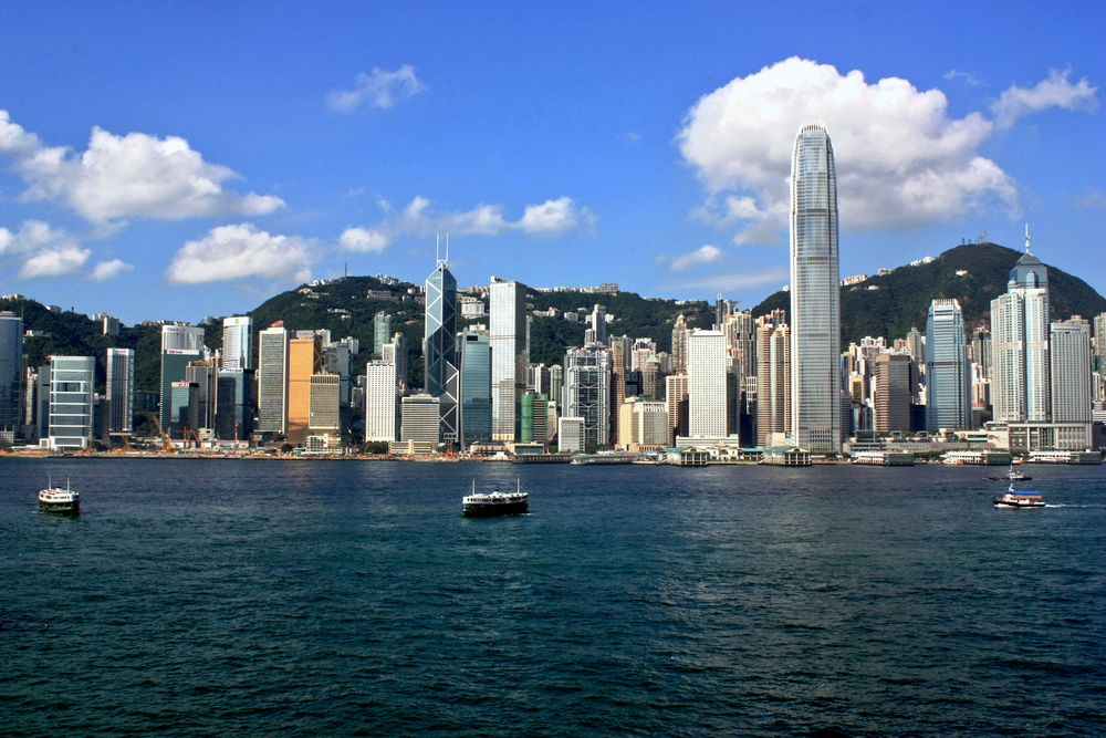 Hong Kong from the water